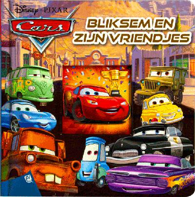 Disney Cars Bliksem en zijn vriendjes