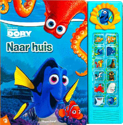 Disney Pixar Finding Dory Naar huis geluidboek