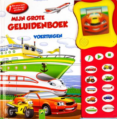 Mijn grote geluidenboek voertuigen 2