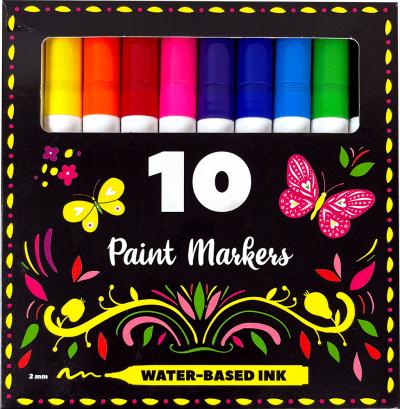 Acryl Paint Markers 10 stuks