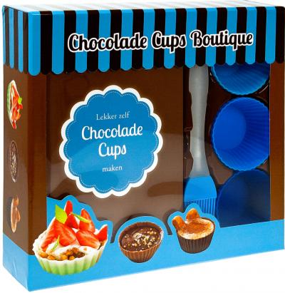 Boek box Chocoladecups