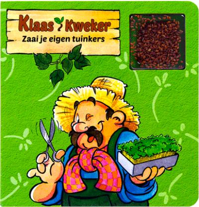 Klaas Kweker - Zaai je eigen tuinkers + zaadjes