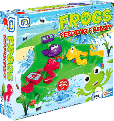 Frogs Feeding Frenzy (Bordspel)