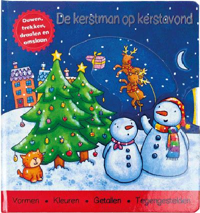 Activiteitenboek Kerstman Op Kerstavond