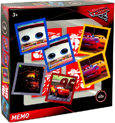 Memory spel cars