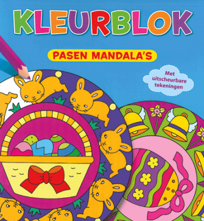 Pasen Mandala's Kleurblok