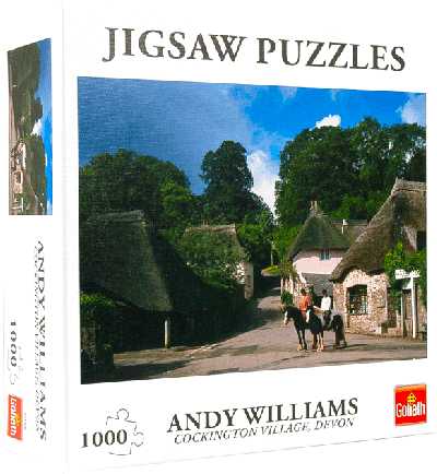 Puzzel Cockington Village (1000 stukjes)