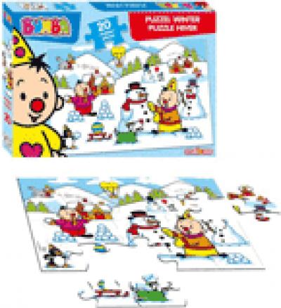 Bumba: puzzel winter - 20 pcs