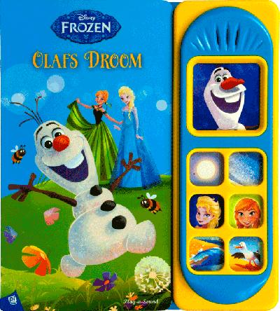Geluidboek, Frozen Olaf's droom