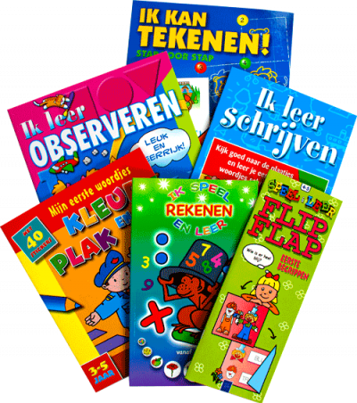 Leuk & leerrijk actiepakket (6 boekjes)