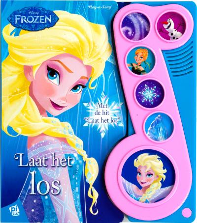 Geluidboek Frozen, laat het los