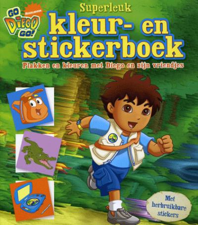 Diego Superleuk Kleur en Stickerboek