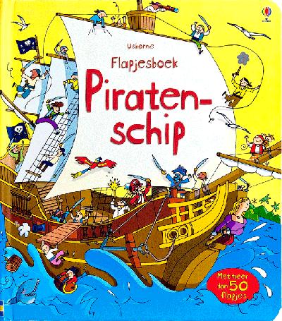 Flapjesboek Piratenschip
