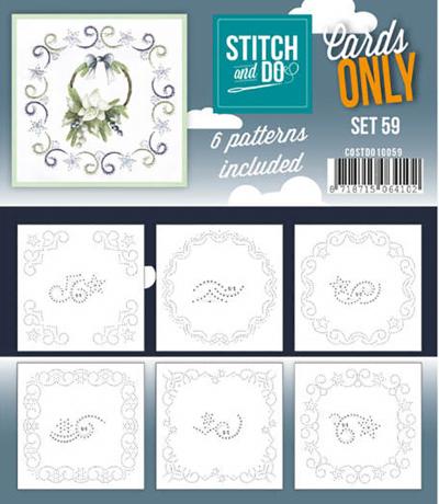 Stitch & Do cards only set 59