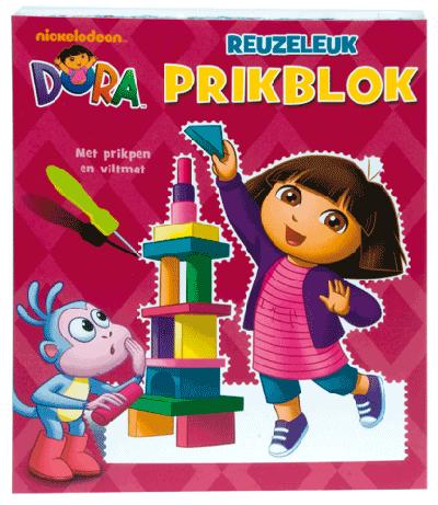 Reuzeleuk Prikblok Dora (Met prikpen en viltmat)