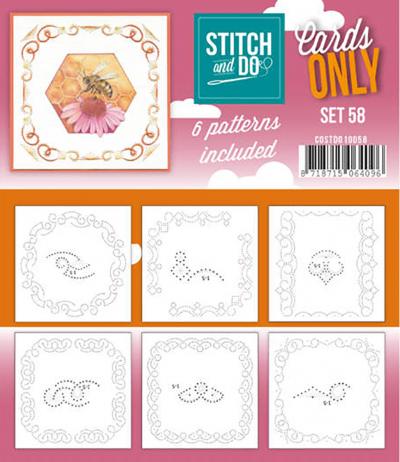 Stitch & Do cards only set 58