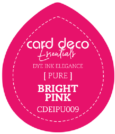 Dye Ink bright pink fade resistant card deco essentials