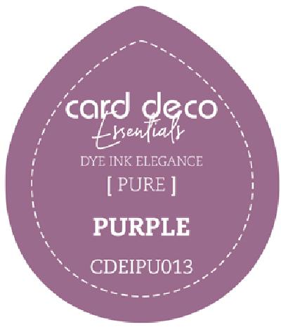 Dye Ink purple fade resistant card deco essentials