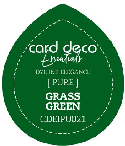 Dye Ink grass green fade resistant card deco essentials