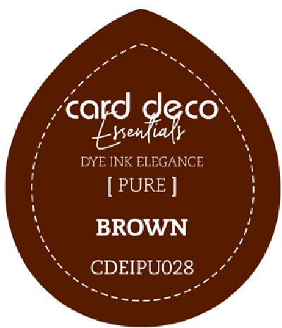 Dye Ink brown fade resistant card deco essentials