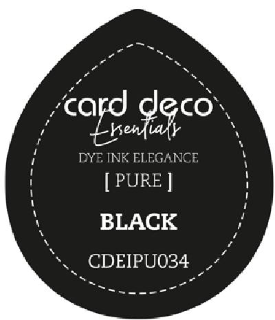 Dye Ink black fade resistant card deco essentials
