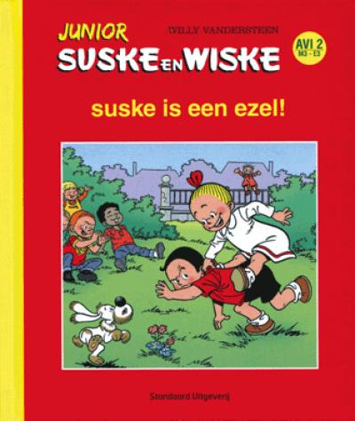 Junior Suske en Wiske suske is een ezel!