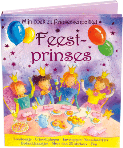 Mijn Boek en Prinsessenpakket Feestprinses