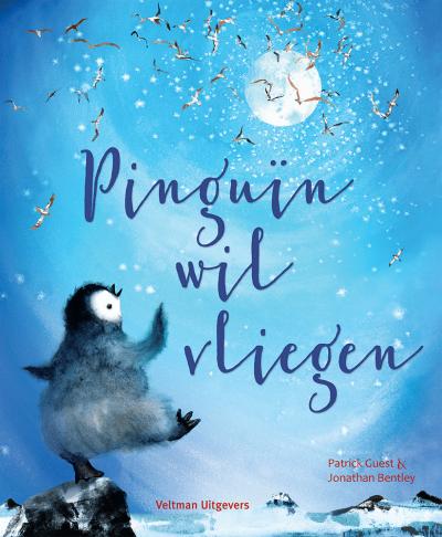 Pinguin wil vliegen