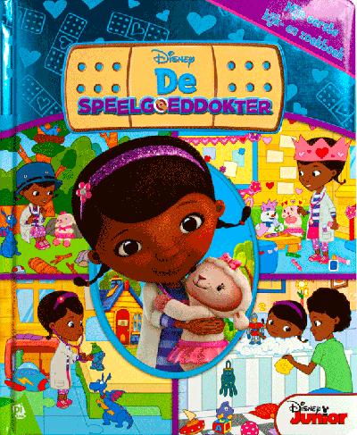 De speelgoeddokter kijk- en zoekboek