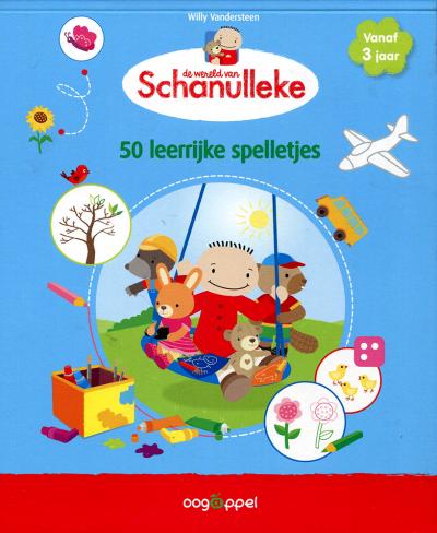 De wereld van Schanulleke - 50 leerrijke spelletjes