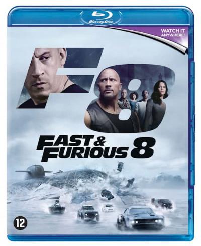Fast & Furious 8 - Blu-ray