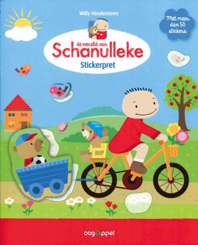 De wereld van Schanulleke Stickerpret
