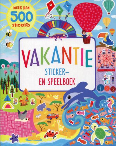 Vakantie stickerboek