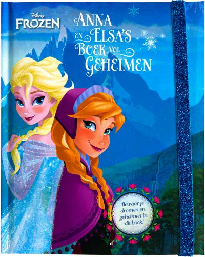 Disney Frozen - Anna en Elsa's boek vol geheimen