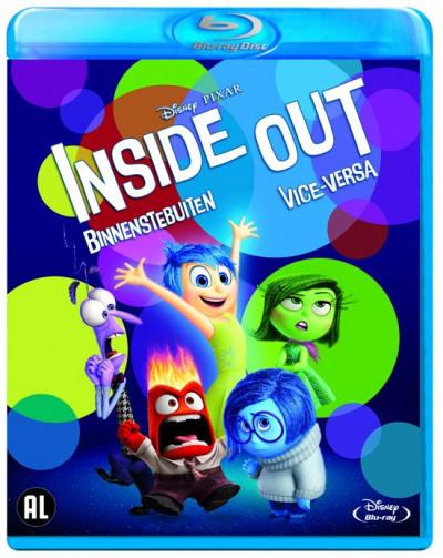 Binnenstebuiten (Inside Out) - Blu-ray