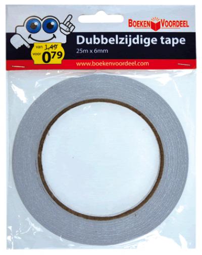 Dubbelzijdig Tape (6mm)