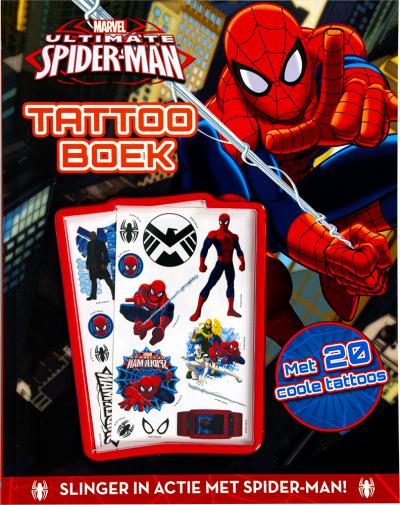 Spider-man tattoo boek