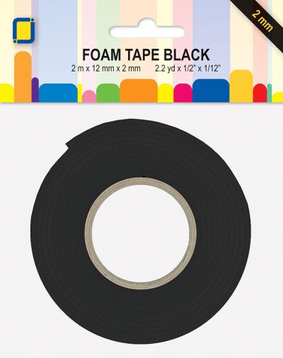 Dubbelzijdig klevend 3d foamtape zwart