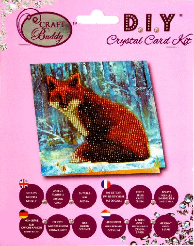 Crystal card kit A9 Fox 18x18