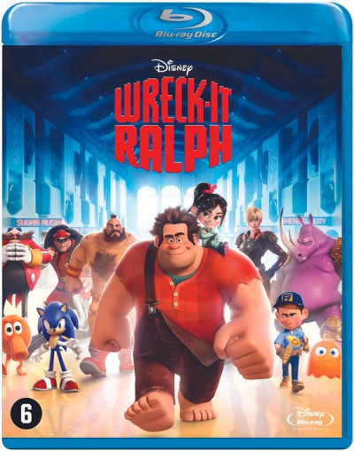 Wreck It Ralph - Blu-ray