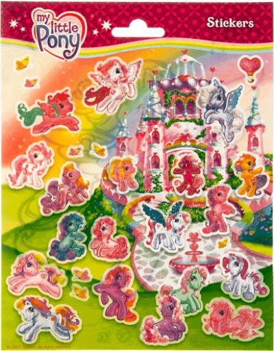 Stickervel My Little Pony