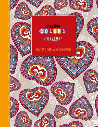 Creative Colors Bewaarmap Rood
