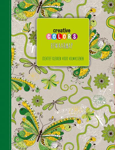 Creative Colors Bewaarmap Groen