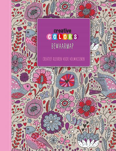 Creative Colors Bewaarmap Paars