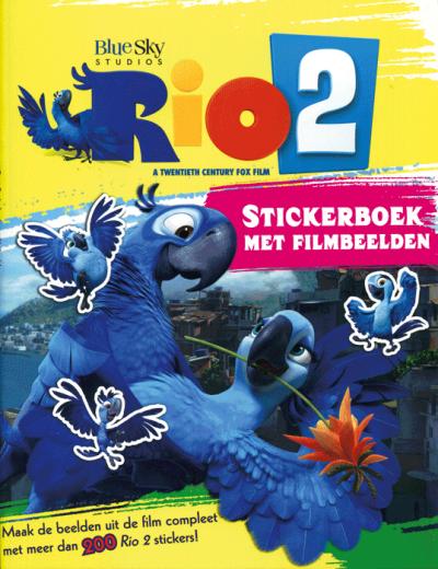 Stickerboek Rio 2 (met filmbeelden)