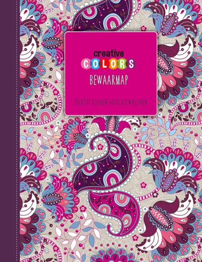 Creative Colors Bewaarmap Roze