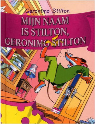 Geronimo Stilton: Mijn naam is Stilton, Geronimo Stilton