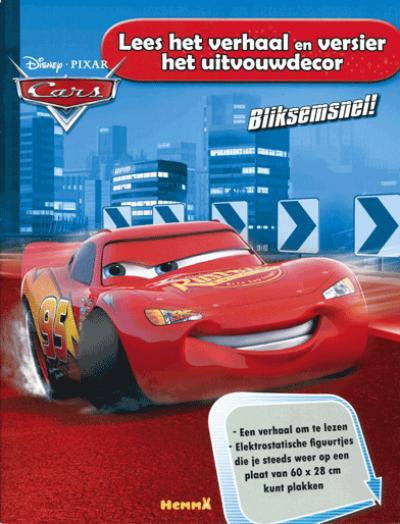 Cars Lees het verhaal en versier het uitvouwdecor