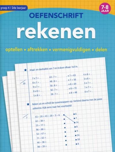 Mijn Oefenschrift Eerste stappen naar Rekenen 5 tot 6 jaar