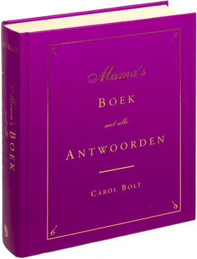 Mama's boek met alle antwoorden